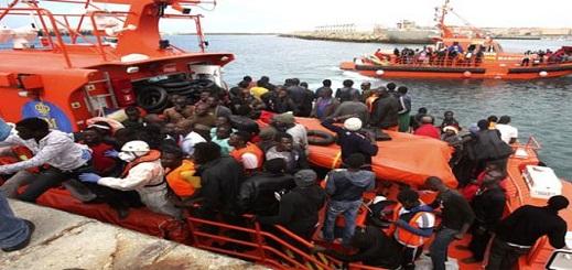 إنقاذ 111 مهاجرا إفريقيا بعرض المتوسط وإرجاعهم سالمين إلى موانئ الناظور والحسيمة