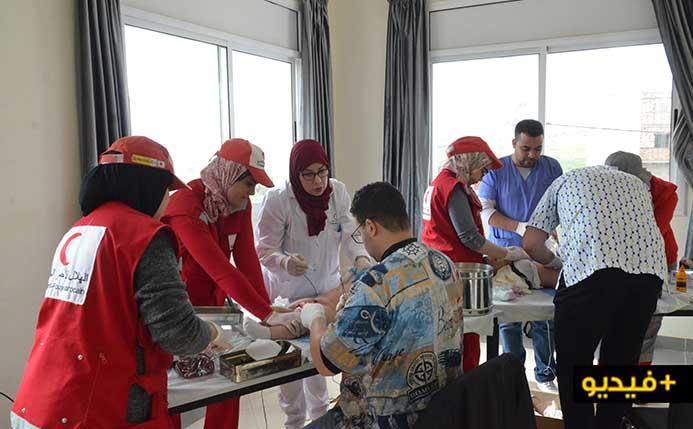 جمعية نساء الغد والهلال الأحمر ينظمان عملية ختان جماعي لفائدة أطفال دوار الحرشة بجماعة بوعرك