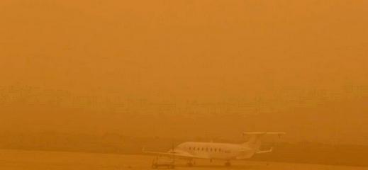 اسبانيا.. عواصف رملية تثير الرعب في صفوف الساكنة وتتسبب في إغلاق مطار جزر الكناري