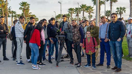 """شاهدوا كواليس تصوير السلسلة الكوميدية الريفية """"عمار ذاميمون"""" التي ستُبث خلال رمضان المقبل"""