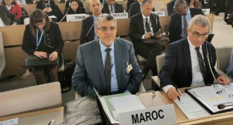 الرميد يستعرض بجنيف انجازات المغرب في مجال حقوق الانسان