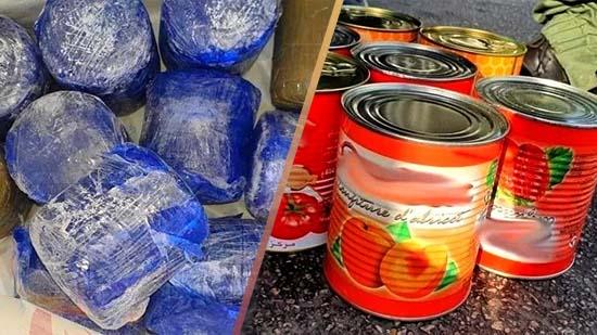 كان متجها لإسبانيا.. اعتقال مهاجر مغربي بحوزته كمية من المخدرات مخبأة داخل علب الطماطم