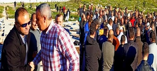 بحضور حوليش.. تشييع جثمان والدة عضو بلدية الناظور عبد الرحيم الحمداوي في أجواء مهيبة