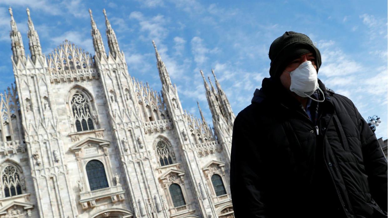 إيطاليا الثانية عالميا في انتشار فيروس كورونا.. ومعدل الوفيات يرتفع بشكل مهول