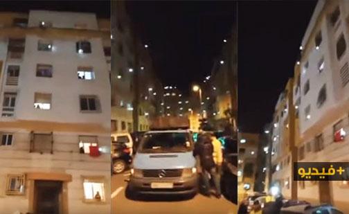 شاهدوا.. ترديد النشيد الوطني المغربي من شرفات المنازل