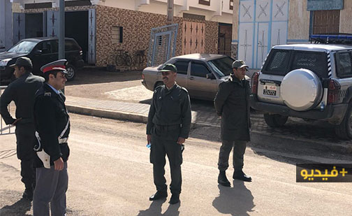 شاهدوا.. القوات العمومية تراقب إحترام المواطنين لقرار الحجر الصحي بتمسمان