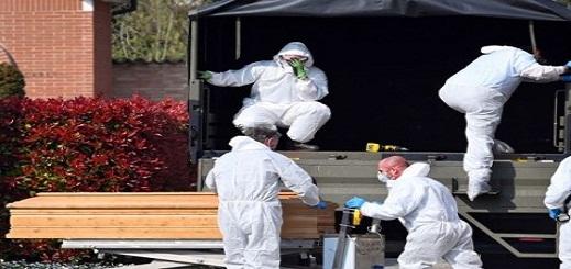وفاة أكثر من 700 شخص في إيطاليا بفيروس كورونا خلال يوم واحد