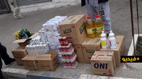 جمعية تفاوين توزع مساعدات على الأسر المعوزة ببني أنصار