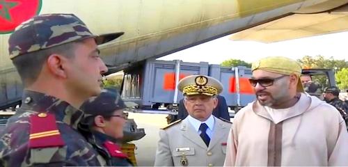 """جنرالات عسكرية تحل بالحسيمة لتتبع إجراءات مكافحة فيروس """"كورونا"""" المستجد"""