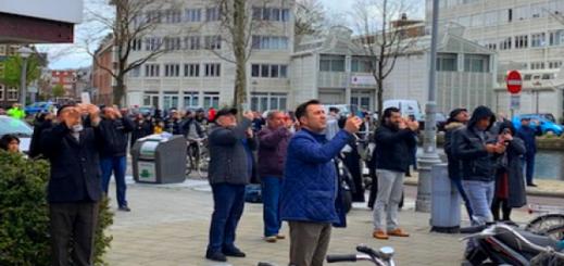 المساجد ترفع الآذان في سماء هولندا تضرعا إلى الله لرفع بلاء جائحة كورونا