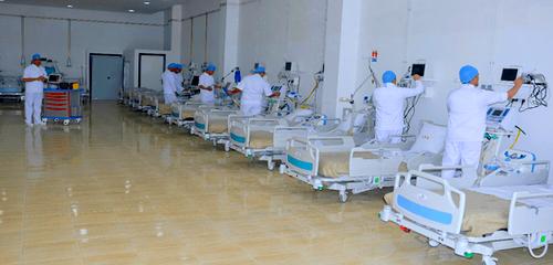 """سعته 700 سرير.. المغرب يبدأ في تشيد مستشفى ميداني للمصابين بفيروس """"كورونا"""" في ظرف أسبوعين"""