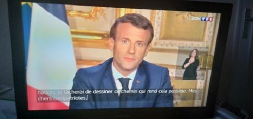 ماكرون:  الحجر الصحي سيتواصل الى غاية 11 مايو في فرنسا والحدود ستبقى مغلقة الى إشعار آخر