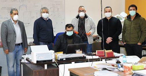 باحثون من جامعة محمد الأول يبتكرون أقنعة واقية اعتمادا على تقنية ثلاثية الأبعاد