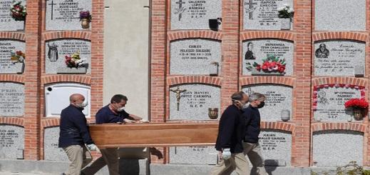 """إسبانيا.. 551 وفاة جديدة بـ""""كورونا"""" وحصيلة الضحايا تتجاوز 19 ألفا"""