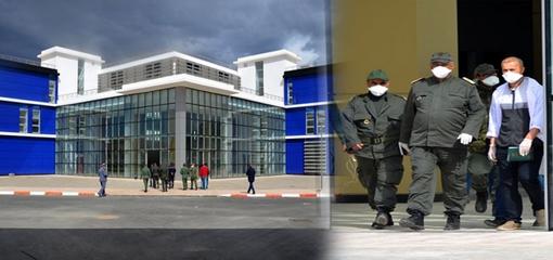 عامل الإقليم يسهر على افتتاح المستشفى الإقليمي للدريوش لاستقبال المشكوك في إصابتهم بفيروس كورونا