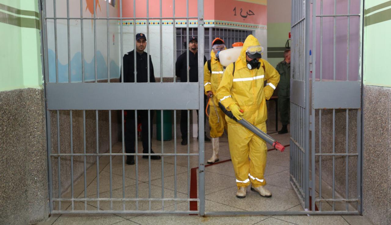 سجن ورزازات يتحول إلى أكبر بؤرة لانتشار فيروس كورونا في المغرب