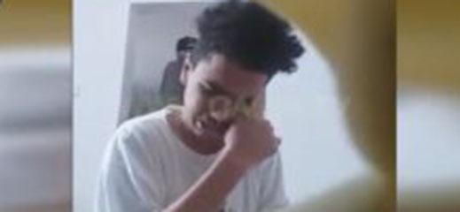 """اعتقال سيدة ظهرت في """"فيديو"""" وهي تعنف ربيبها المعاق"""