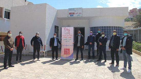 ممونو الحفلات بالناظور ينخرطون في حملة التبرع بالدم