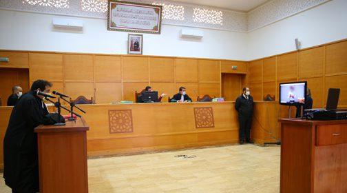 كوفيد 19 : اعتماد المحاكمات عن بعد بوجدة
