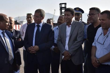 بفضل جهود السلطات والمتدخلين والمستثمرين : ميناء بني أنصار يستقبل أزيد من 136 حاوية بالرغم من تأثيرات جائحة كورونا