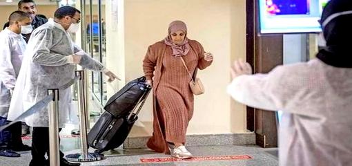 ضمنهم عدد من أبناء الريف.. استقبال حار للعالقين بالمغرب بسبب كورونا في مطار أمستردام الهولندي