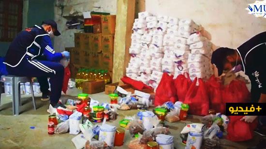 شاهدوا.. مؤسسة منير للأعمال الإجتماعية تساعد المحتاجين في المناطق النائية بإقليم الناظور