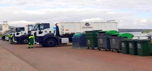 """شركة """"كازاكتكينك"""" لتدبير النفايات بالناظور تنفي دخول عمال النظافة في إضراب عن العمل"""