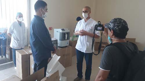 مجلس اقليم الدريوش يسلم الدفعة الثانية من المعدات الطبية في اطار مكافحة فيروس كورونا