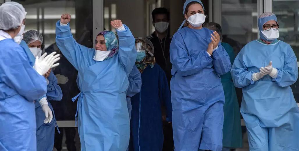 """تراجع عدد حالات """"كورونا"""" بالمغرب إلى أقل من 100  خلال 24 ساعة الماضية"""