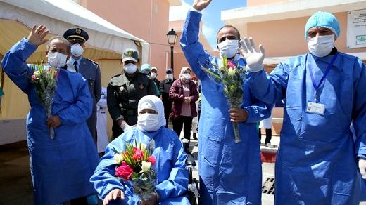 حالات الشفاء من فيروس كورونا بجهة طنجة الحسيمة تصل 316 حالة