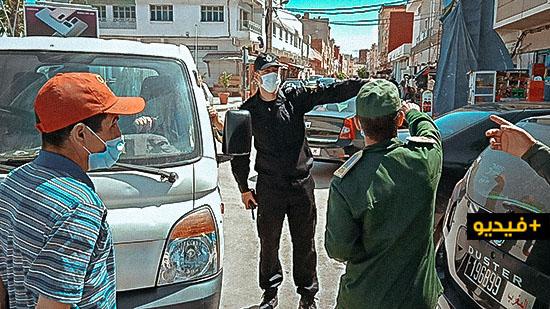 بعد إنتشار إشاعة فتح سوق أولاد ميمون.. السلطات تغلق جميع المنافذ المؤدية إليه