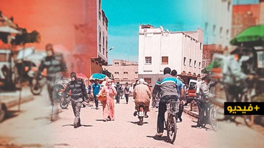 سوق تاويمة بالناظور قنبلة موقوتة.. إكتظاظ، سِلَعٌ تُعرض في الشارع  وتجار دون كمامات