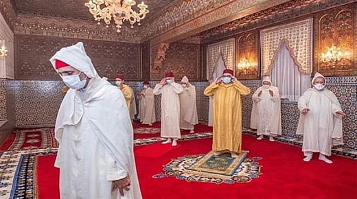 هكذا أحيى الملك محمد السادس ليلة القدر المباركة