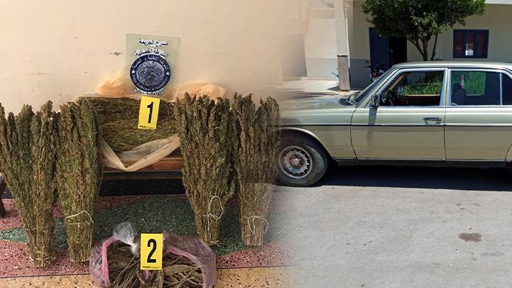 إعتقال ثلاثة أشخاص بالناظور وبحوزتهم كمية من المخدرات
