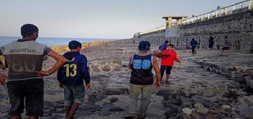 حراكة مغاربة يفرون من مركز الإيواء بمليلية خوفا من إعادتهم إلى المغرب
