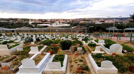 بعد 9 أيام من وفاتها.. دفن الشابة المتوفاة بحلبة الثيران بمليلية والمنحدرة من الدريوش بمقبرة إسلامية