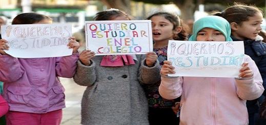 طفلة مغربية تنتزع حقها في التمدرس بمليلية بعد تدخلٍ من الأمم المتحدة والحكومة الإسبانية