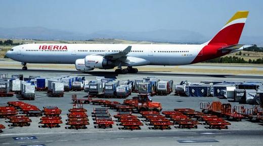 """شركة """"İberia"""" الإسبانية تعلن إستئناف رحلاتها الجوية اتجاه المغرب إنطلاقا من شهر غشت"""