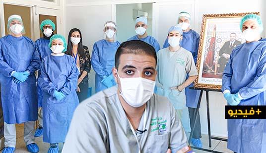 شاهدوا.. ناظورسيتي تواكب عمل فريق خلية اليقظة المكلفة بالمصابين بفيروس كورونا بالمستشفى الحسني