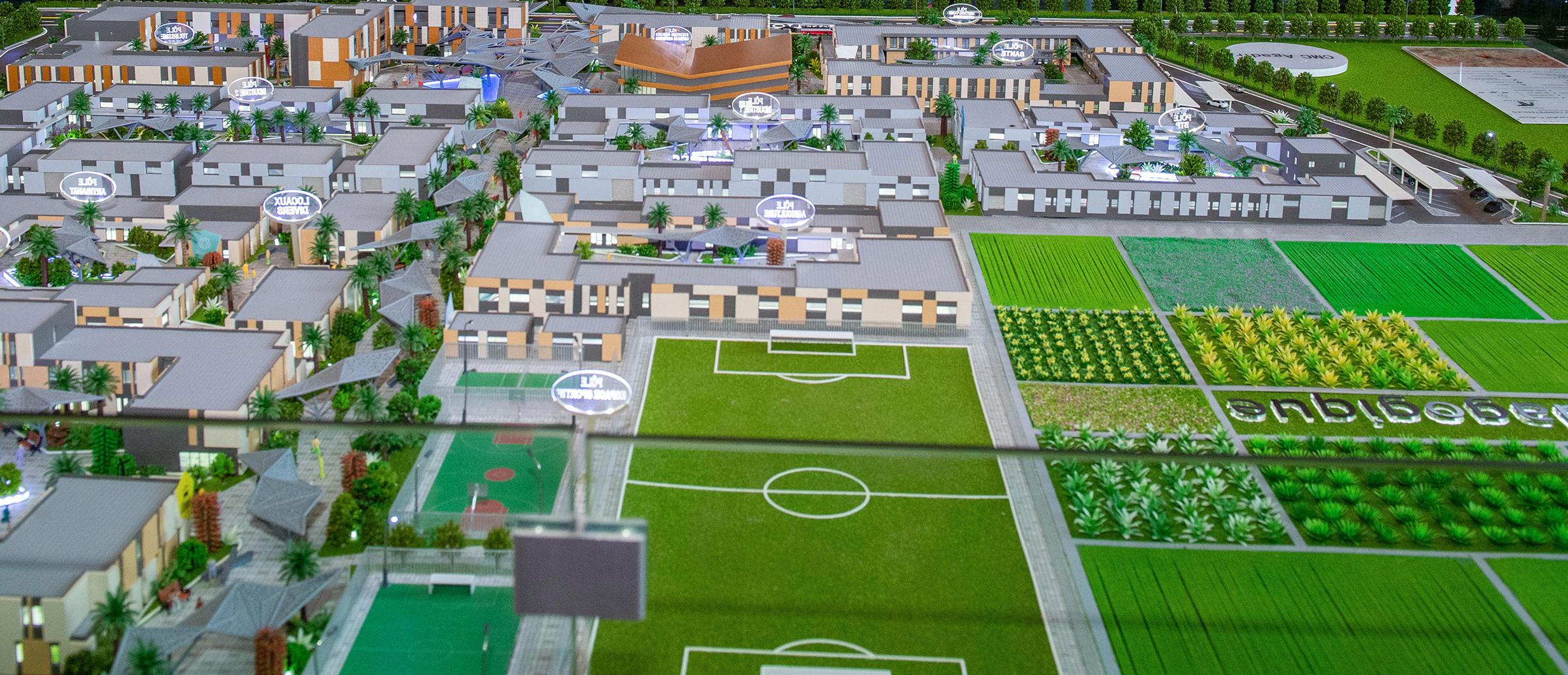 أشغال مدينة المهن ستنطلق هذا الشهر وكل شيء جاهز لأهم مشروع بالإقليم
