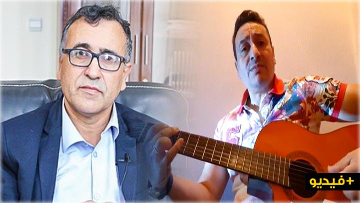 الفنان عمر أياو يحيي أغنية أمازيغية كتب كلماتها عميد كلية الناظور