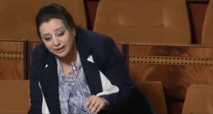 """برلمانية الناظور ابتسام مراس تتهم وزارة الشباب والرياضية بـ""""الشفرة"""" بسبب إنشاء موقع إلكتروني بـ250 مليونا"""