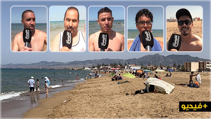 شاطئ أركمان يستقبل الناظوريين وسط التزام بالتدابير الوقائية