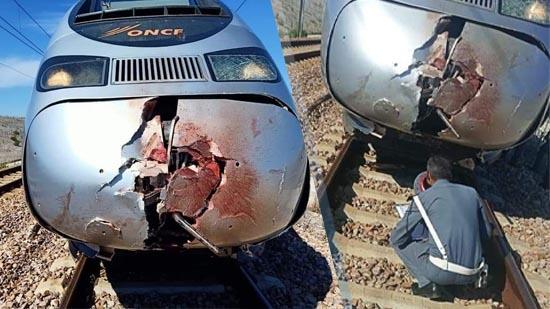 بالصور.. القطار فائق السرعة يحصد أول ضحاياه بعد كورونا ويحوّل جثة شخص إلى أشلاء