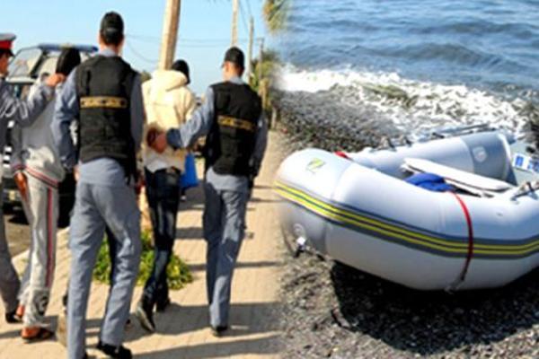 بعد مطاردة مثيرة.. إلقاء القبض على مهربين ينظمان رحلات الهجرة السرية من سواحل بوعرك