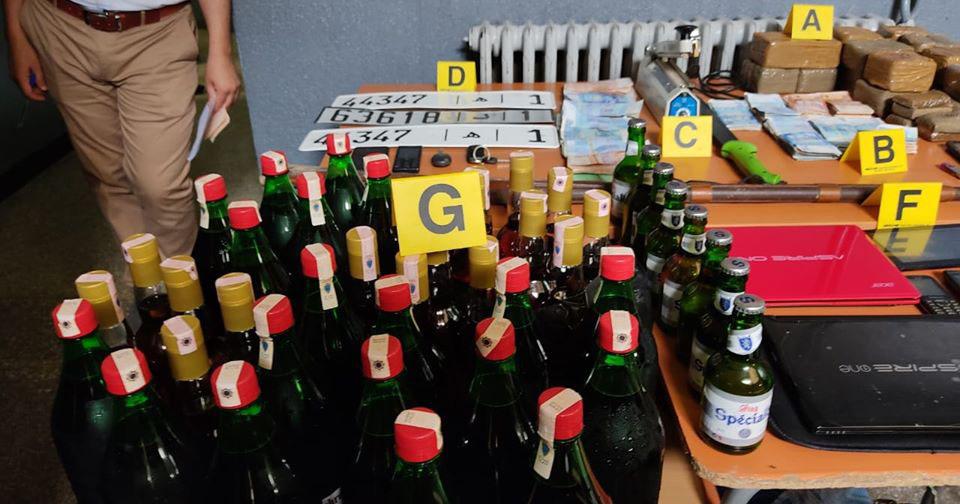 الشرطة القضائية تقتحم منزل شخص ستيني بسلوان وتحجز كميات مهمة من الخمور والكحول