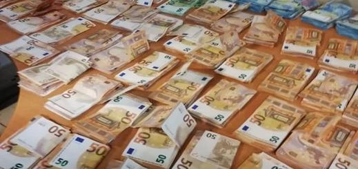 إحباط محاولة تهريب 90 ألف يورو داخل شاحنة للنقل الدولي