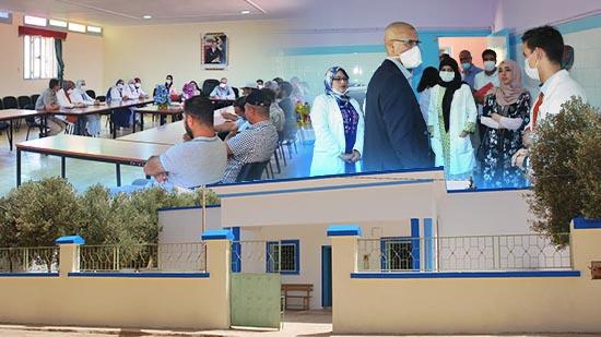 الدريوش.. أطر صحية وفعاليات المجتمع المدني تبادر إلى إصلاح المركز الصحّي بدار الكبداني
