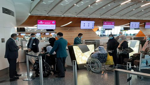 المغرب يرحل 278 من مواطنيه العالقين في ثلاثة بلدان عربية