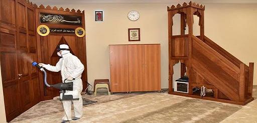 وزارة الأوقاف تنفي لجوئها الى المحسنين لتوفير معدات قياس الحرارة والتعقيم
